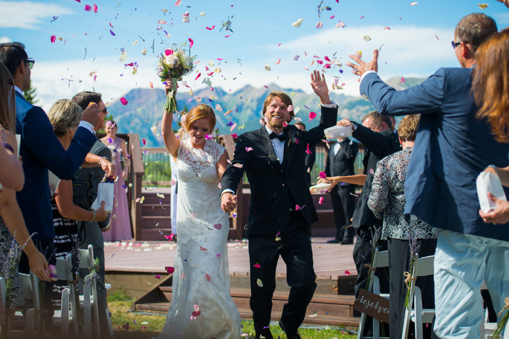 Wedding Uleys Cabin Crested Butte